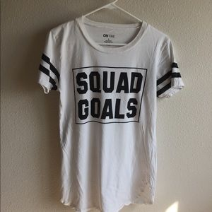 on fire | squad goals tee